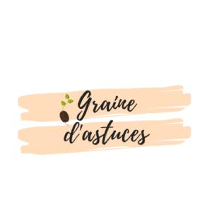 Une graine avec écrit graine d'astuces